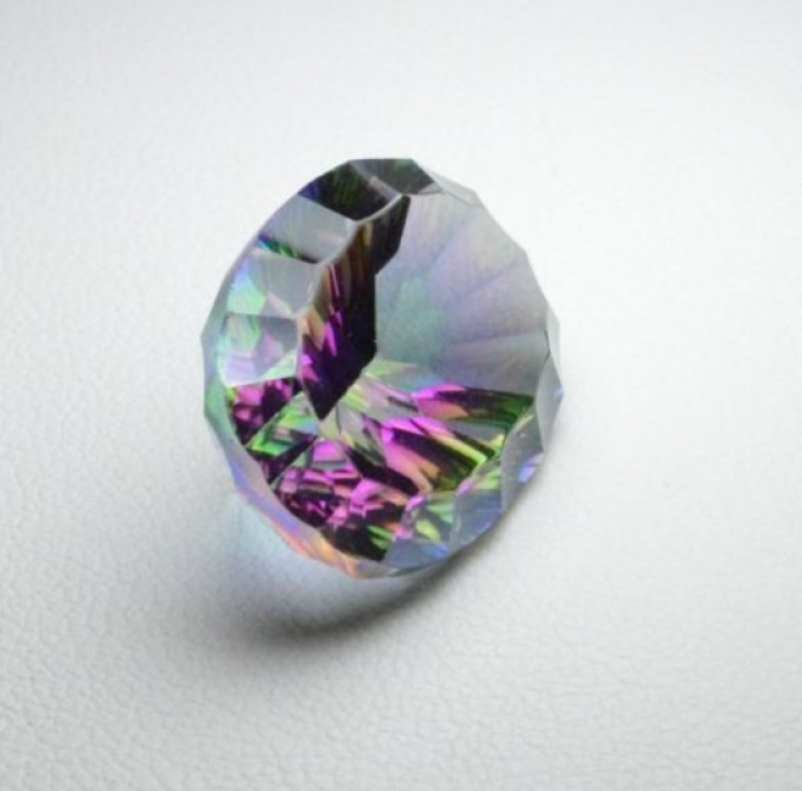 il ct faceted size mm quality index aaa midnight gemstone round exclusive mystic topaz