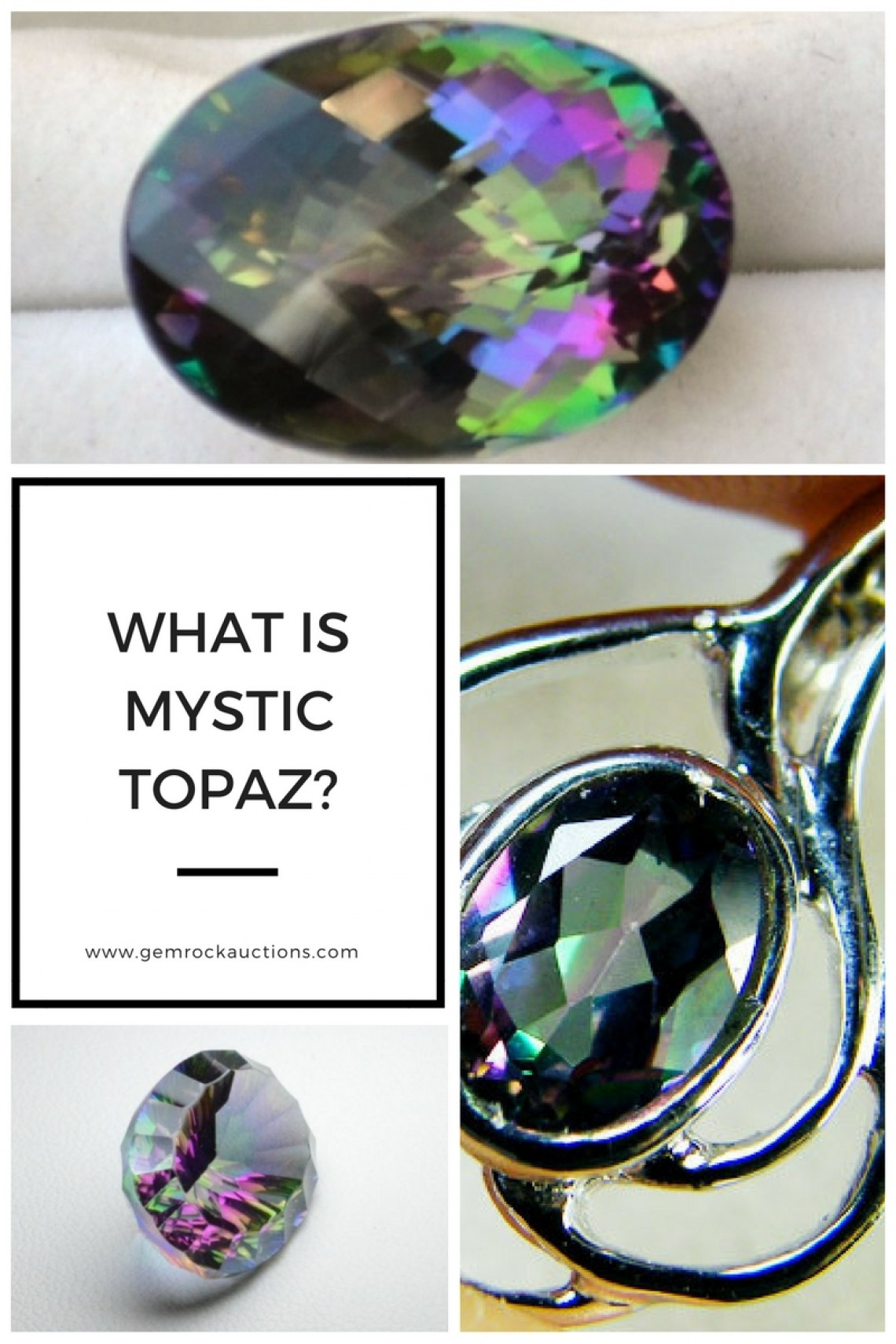What is mystic topaz