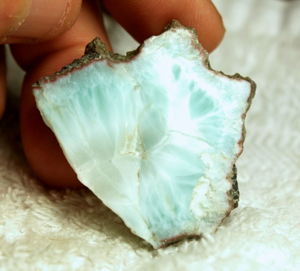 Larimar  Uses Meanings Origin and Appearance