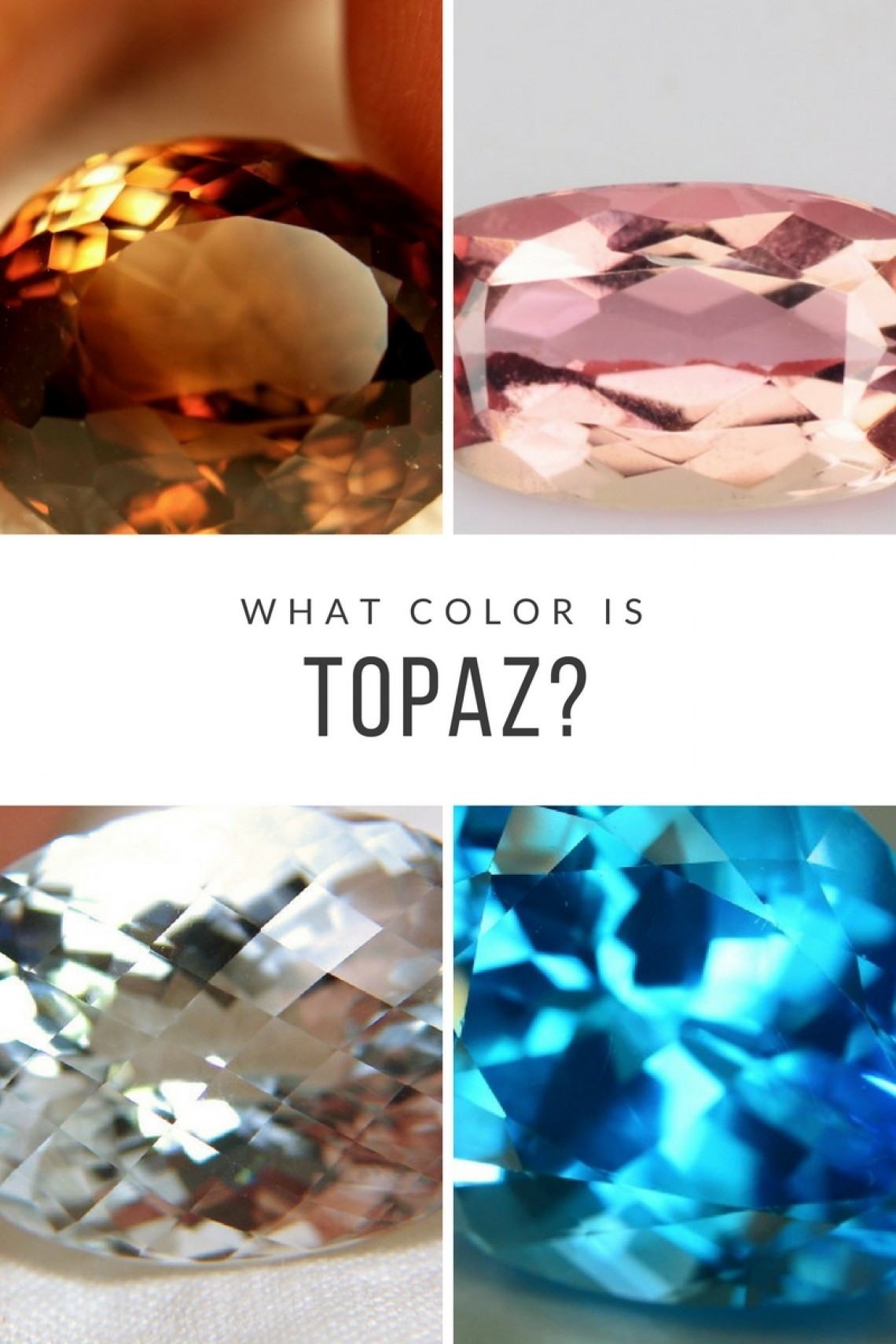 What Color Is Topaz? Blue, Yellow Pink and More | Gem Rock Auctions