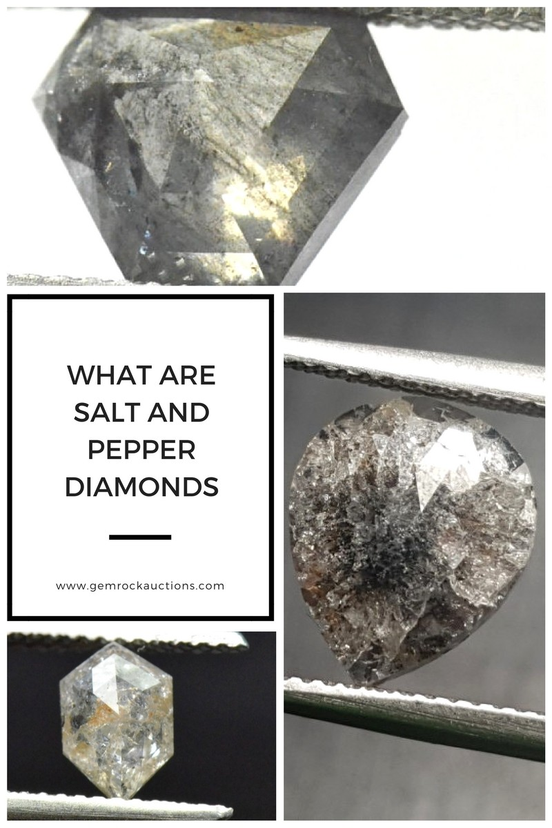 What Are Salt and Pepper Diamonds