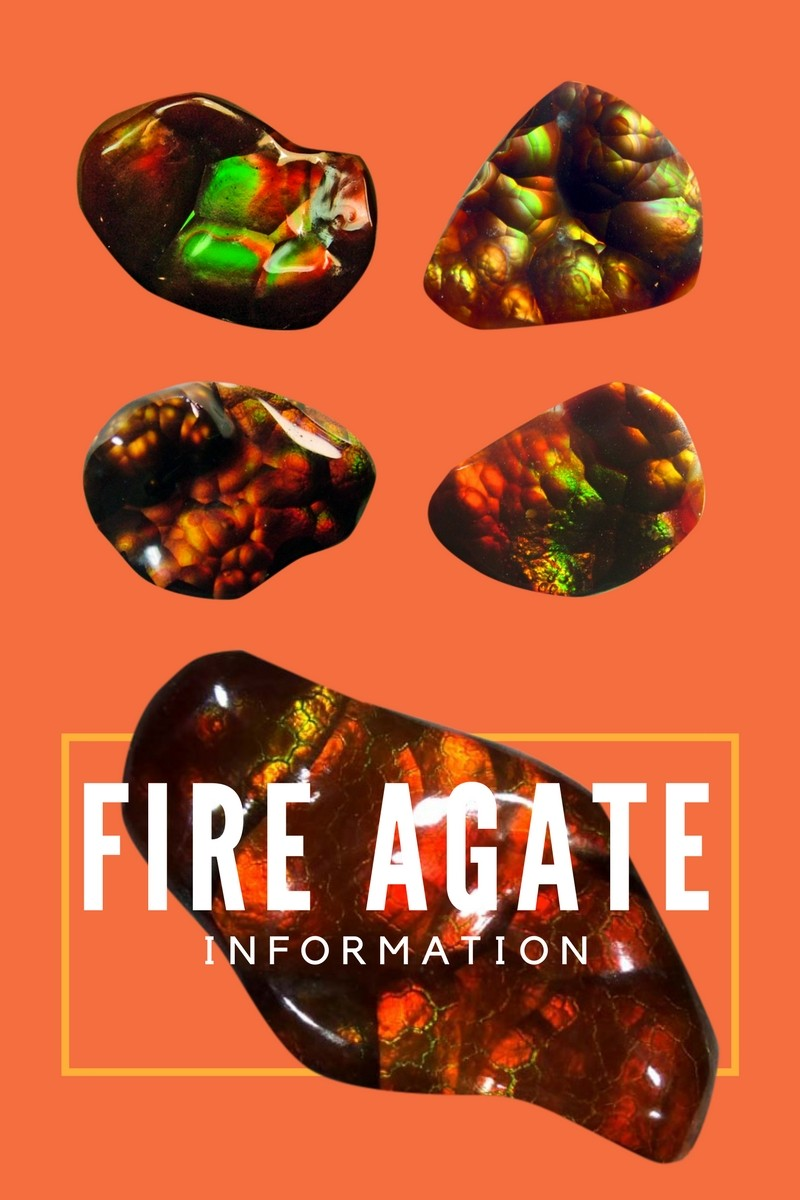 Fire Agate Information And Uses