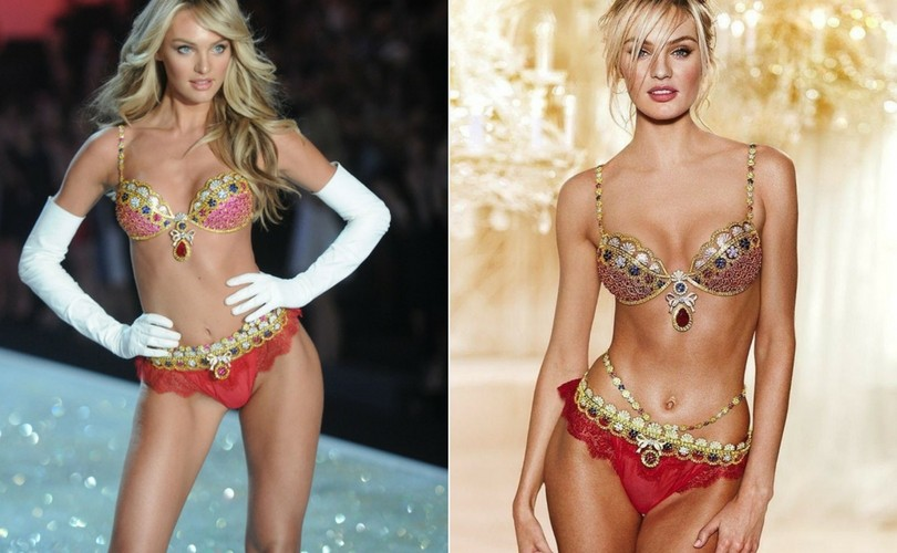 Victorias Secret Fantasy Bra Throughout The Years