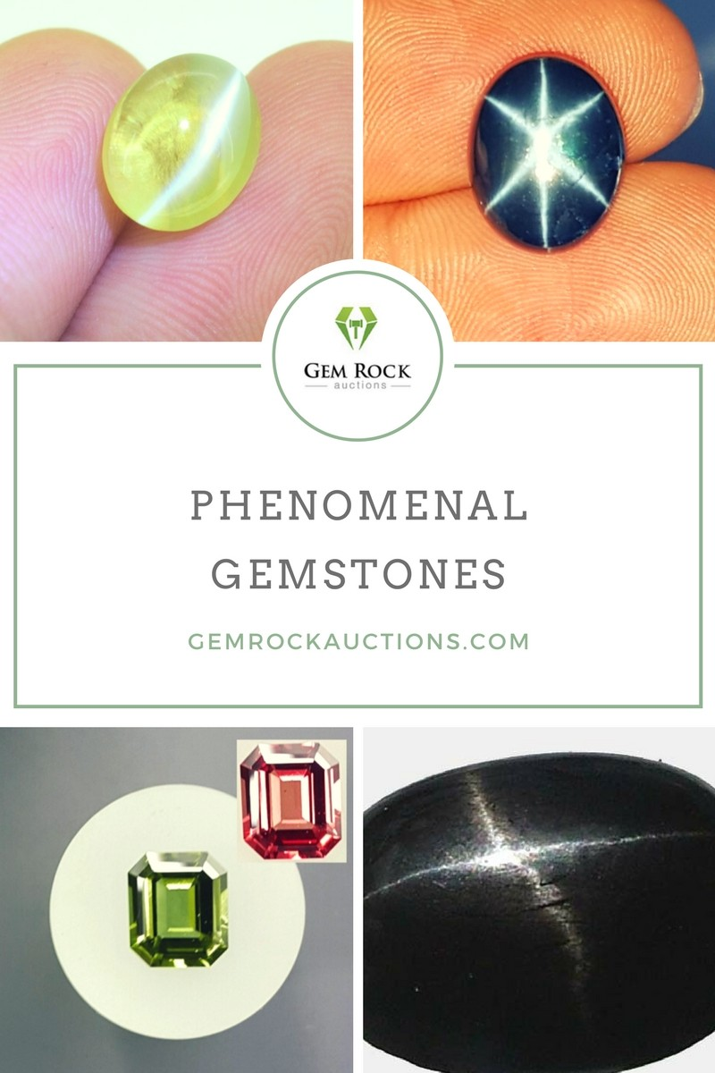 Phenomenal Gemstones  Gemstones with Optical Properties