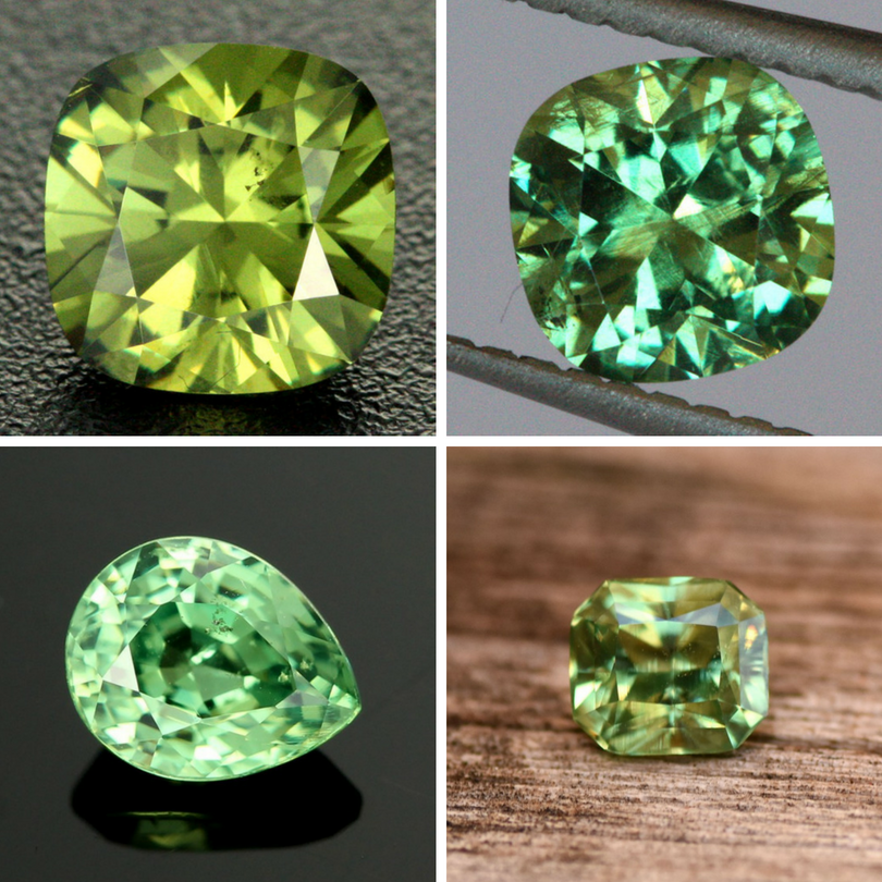 demantoid garnet information