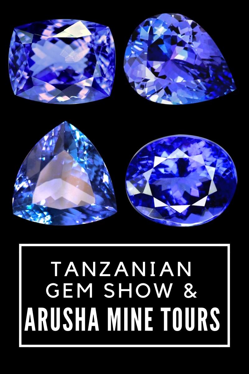 Tanzanian gem show and Arusha mine tours