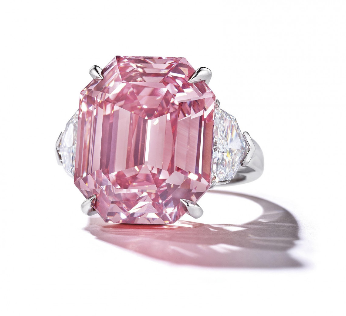 Harry Winston Pink Legacy