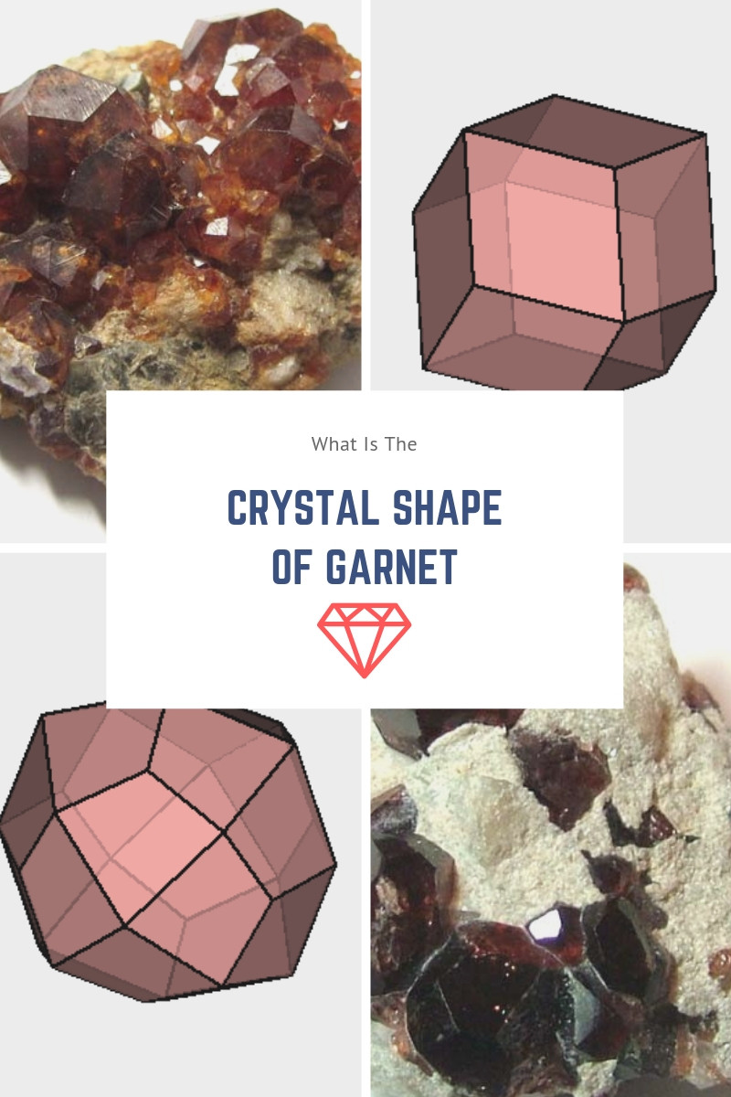 what is the crystal shape of garnet