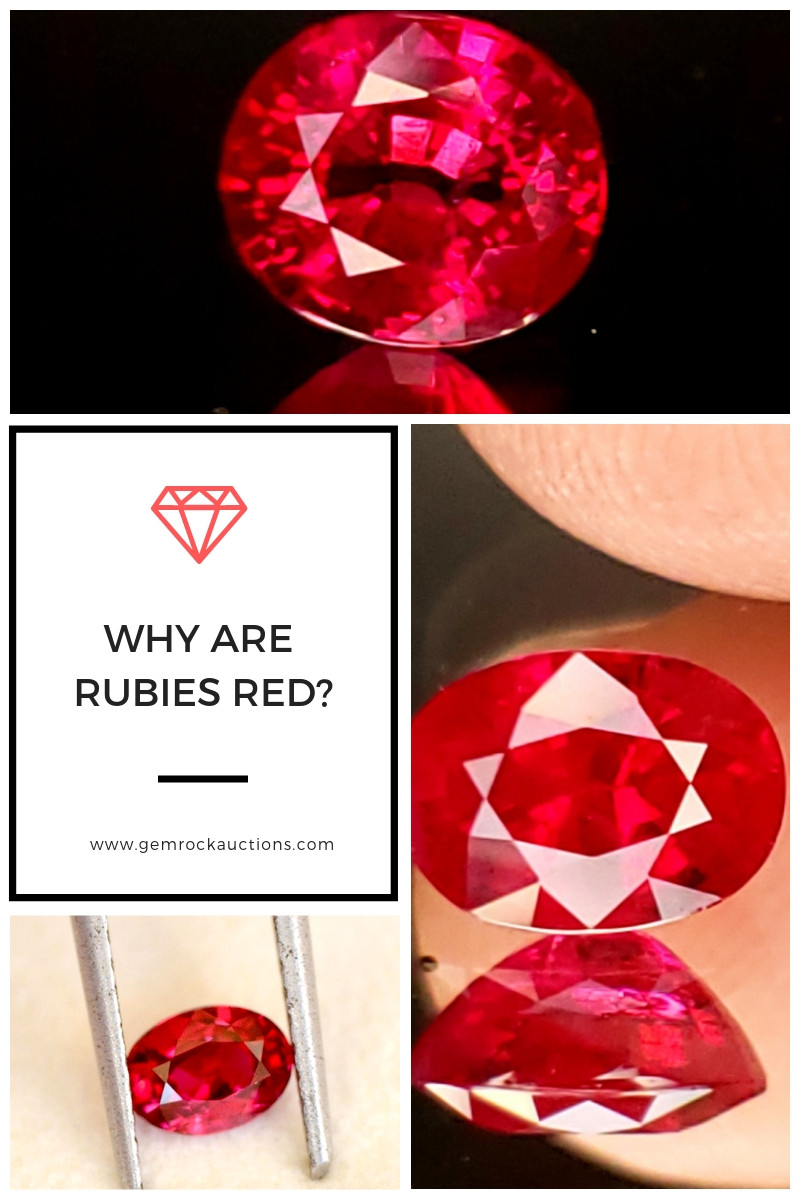 Why are Rubies Red