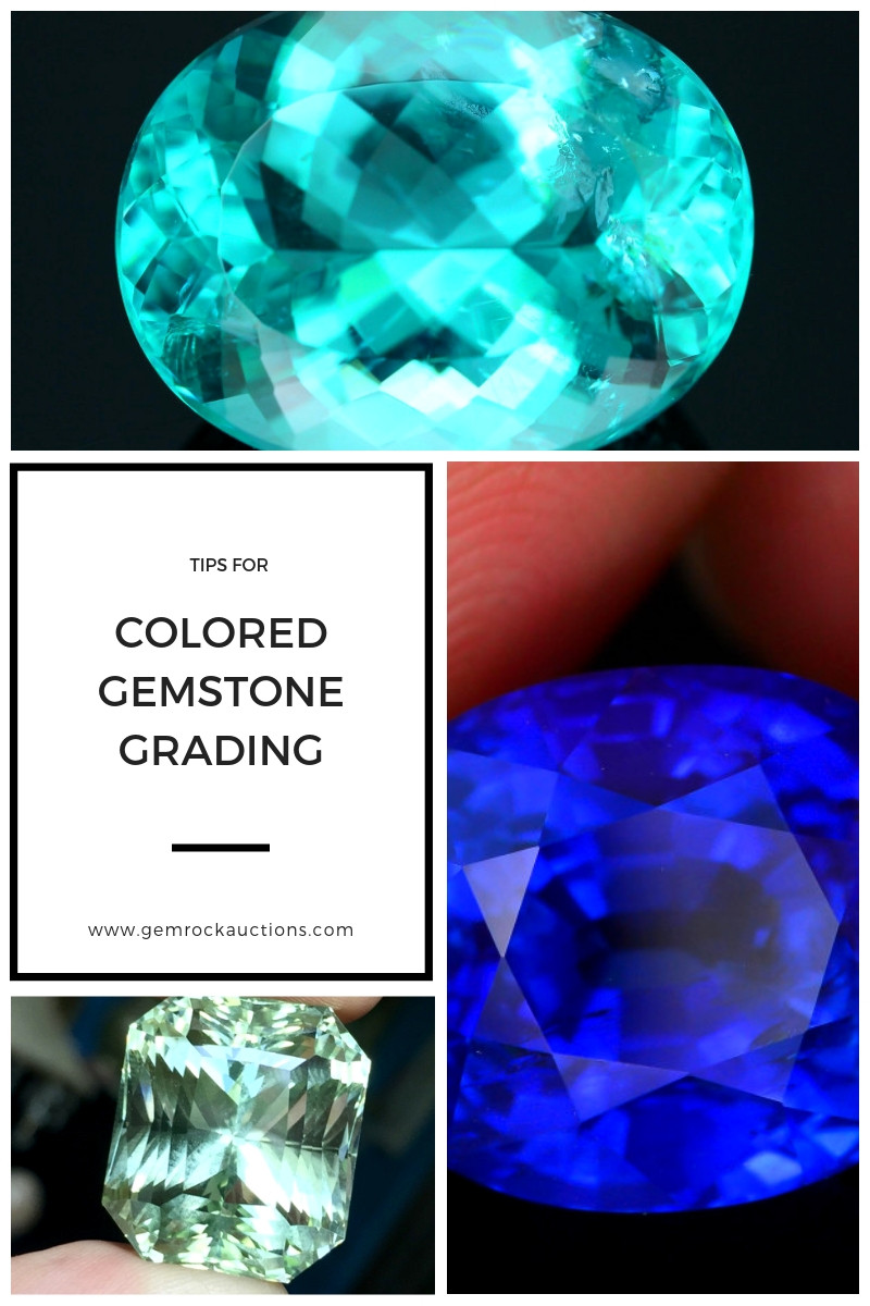 Colored Gemstone Grading