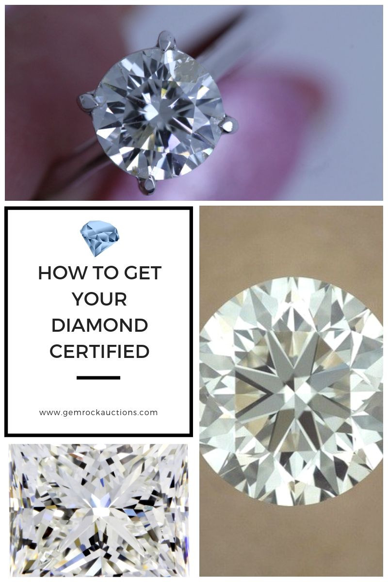 How To Get Your Diamond Certified Gem Rock Auctions