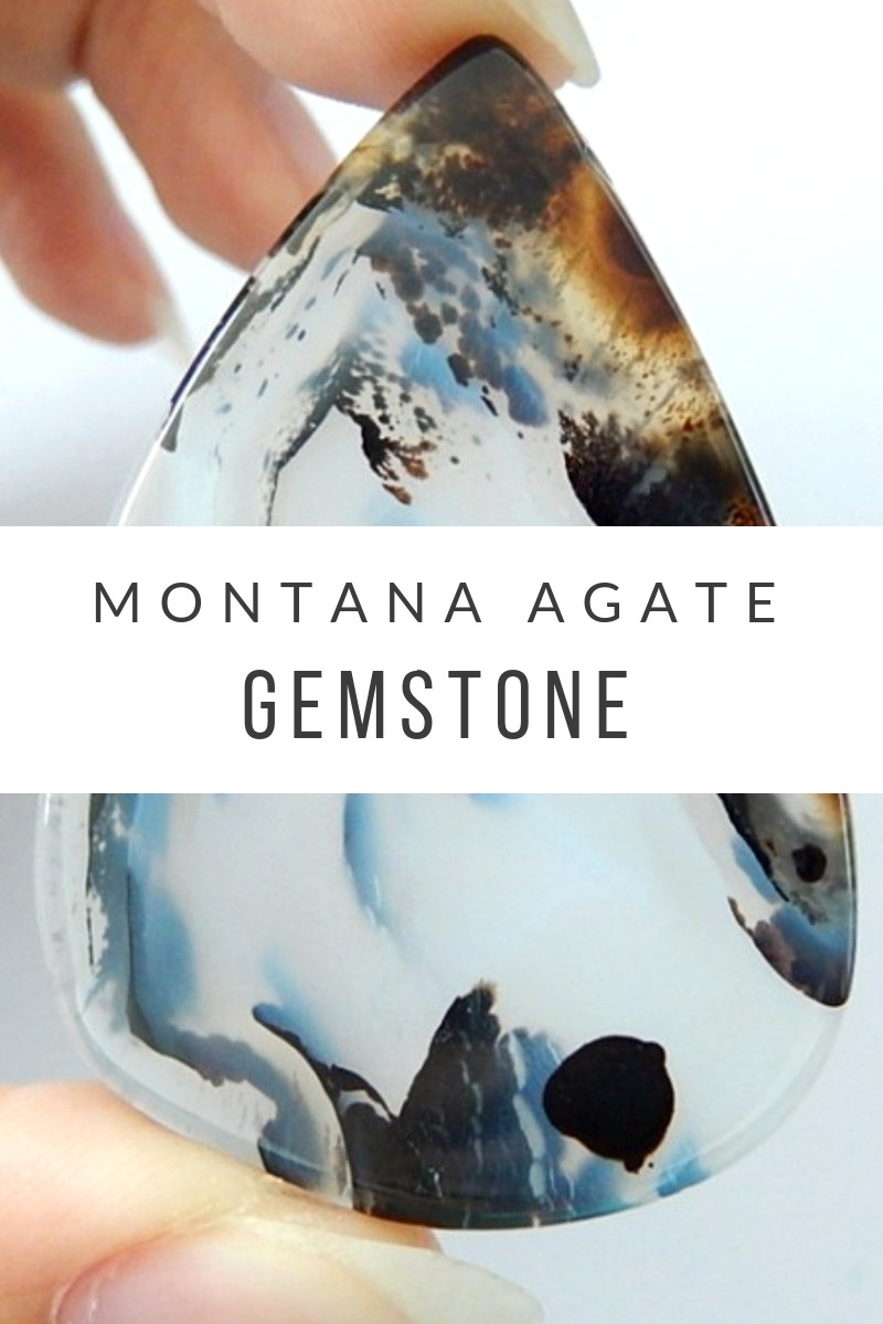 Montana agate gemstone