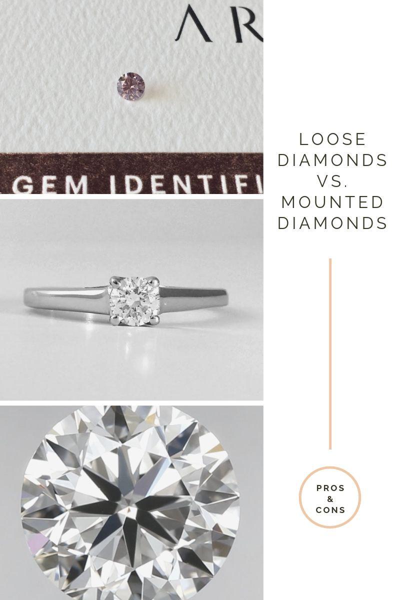 Loose Diamonds vs Mounted Diamonds
