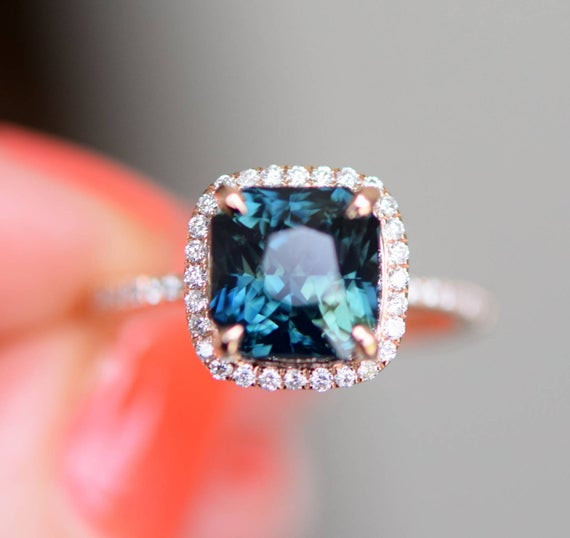 What Are Peacock Sapphires and Mermaid Sapphires