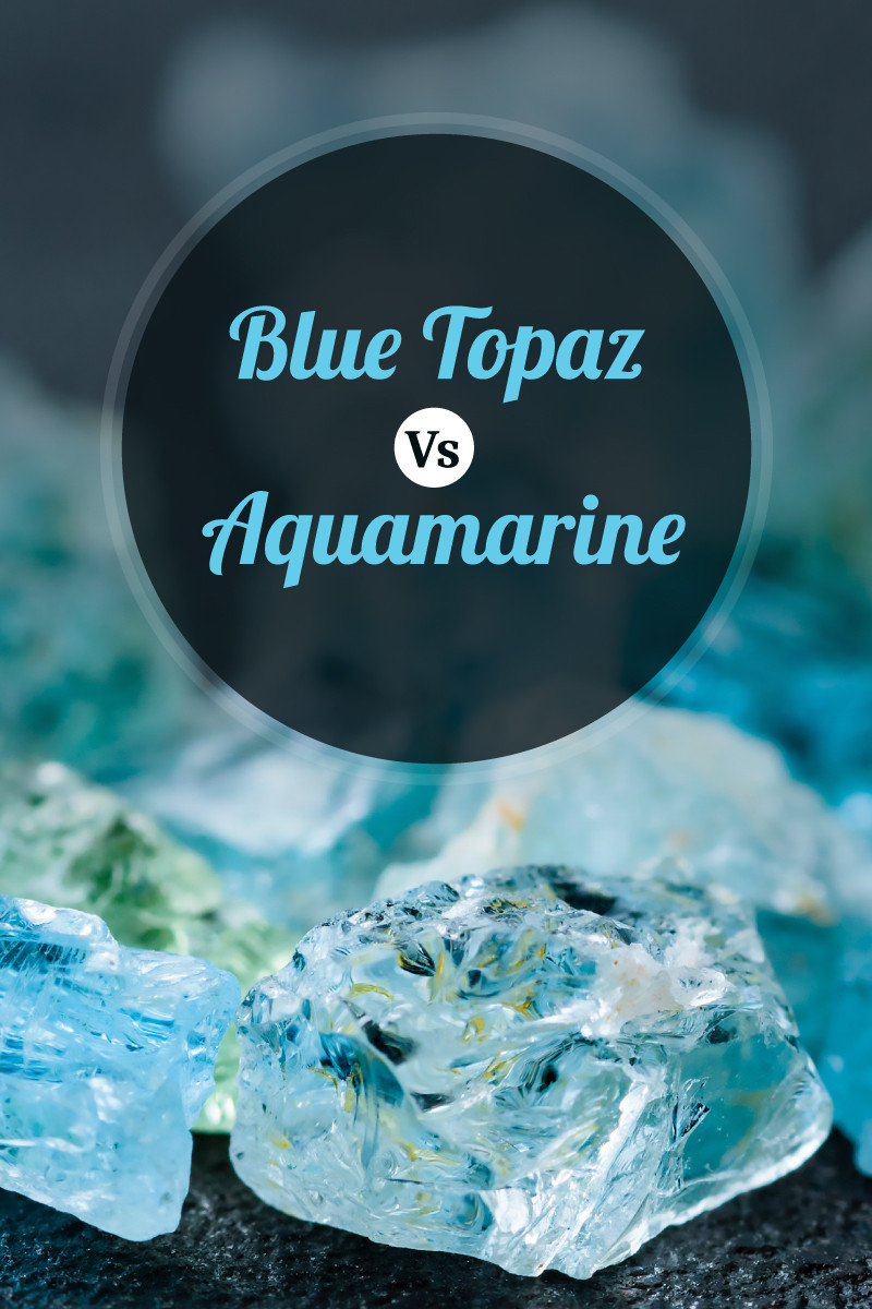 Blue Topaz Vs Aquamarine