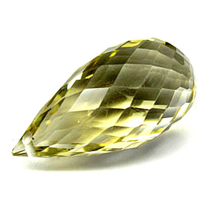 briolette shaped gemstone