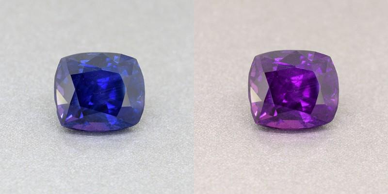 color chnage chamelion sapphire