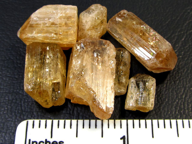 Imperial Topaz Mines of Ouro Region Brazil