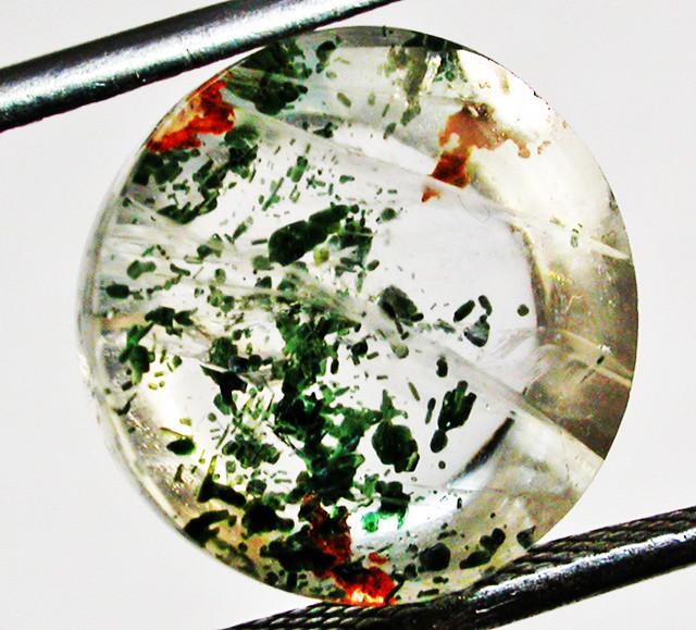 Quartz Gemstone  with Mica Inclusions