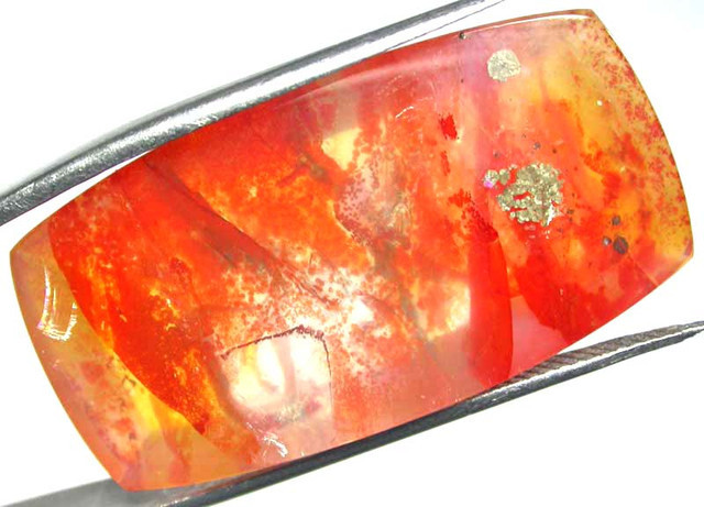 Quartz Orange Gioaba Gemstone
