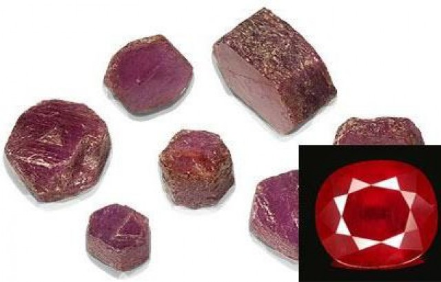 Glass Filled Ruby treatment