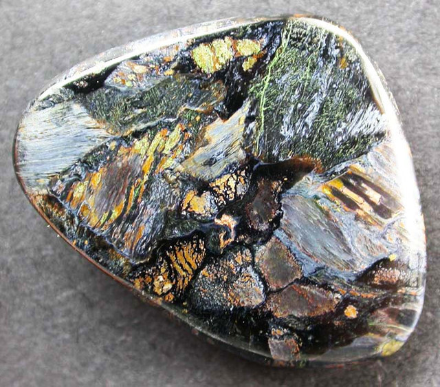 Pietersite gemstone information