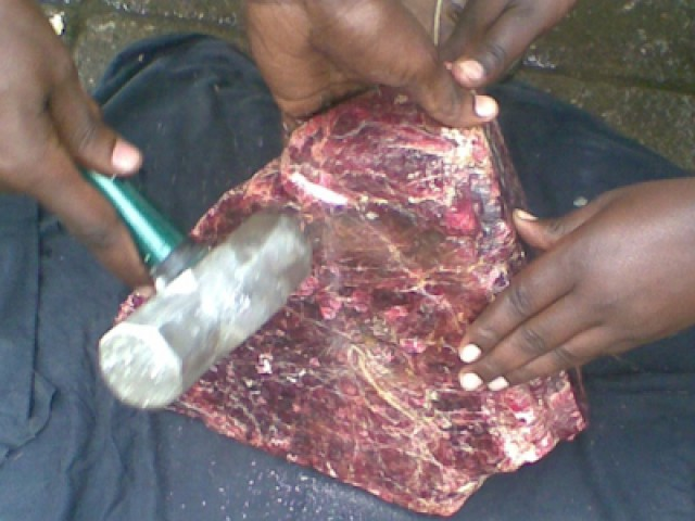 Giant Mahenge Spinel crystal that changed everything