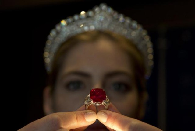 Sunrise Ruby Sets A New World Record Sale Price