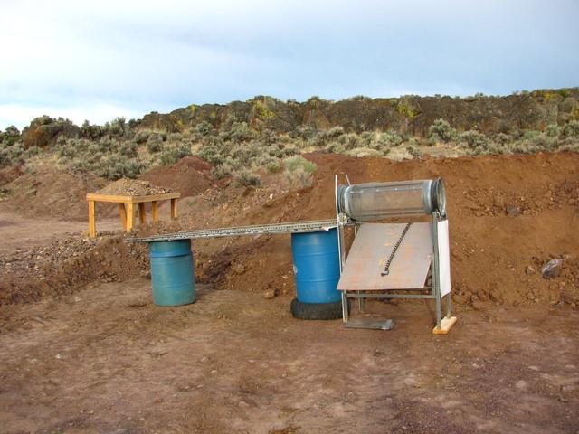 Mining Sunstones In Oregoen USA