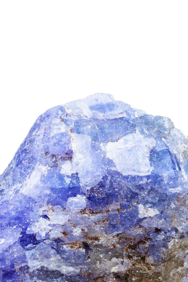 Tanzanite rough gemstone
