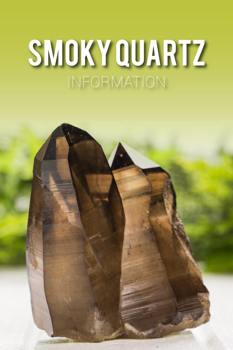 Smoky quartz stone
