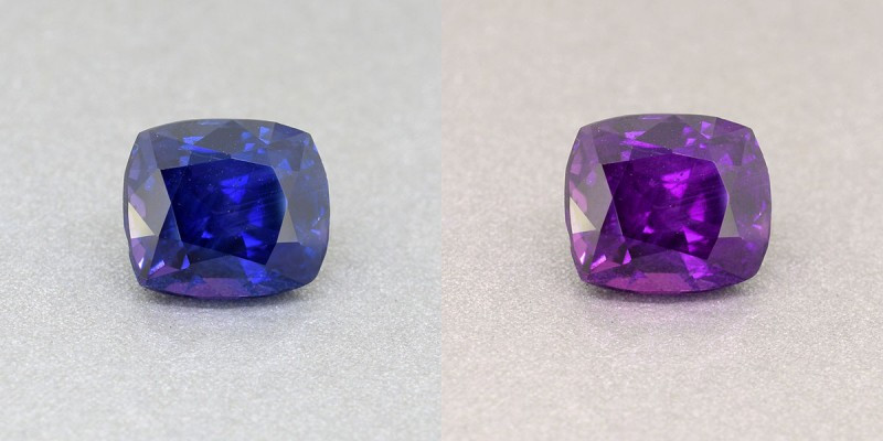 color change sapphires