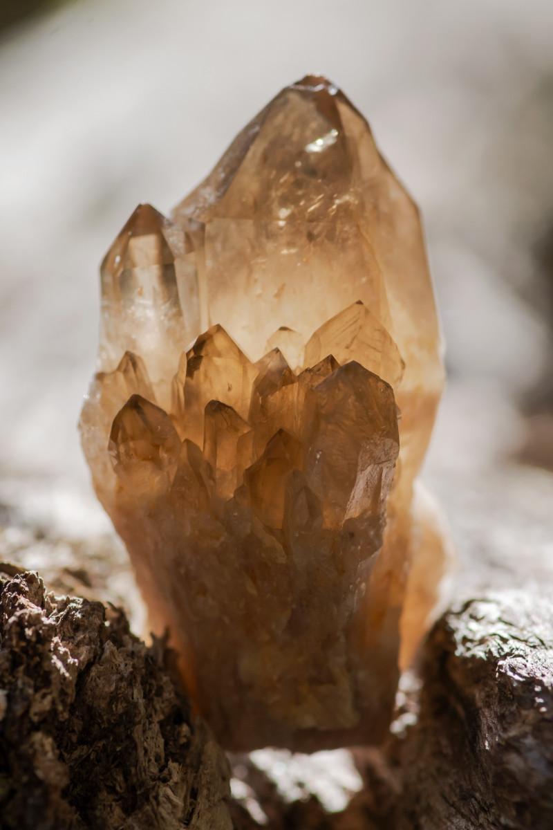 Smoky quartz raw crystal