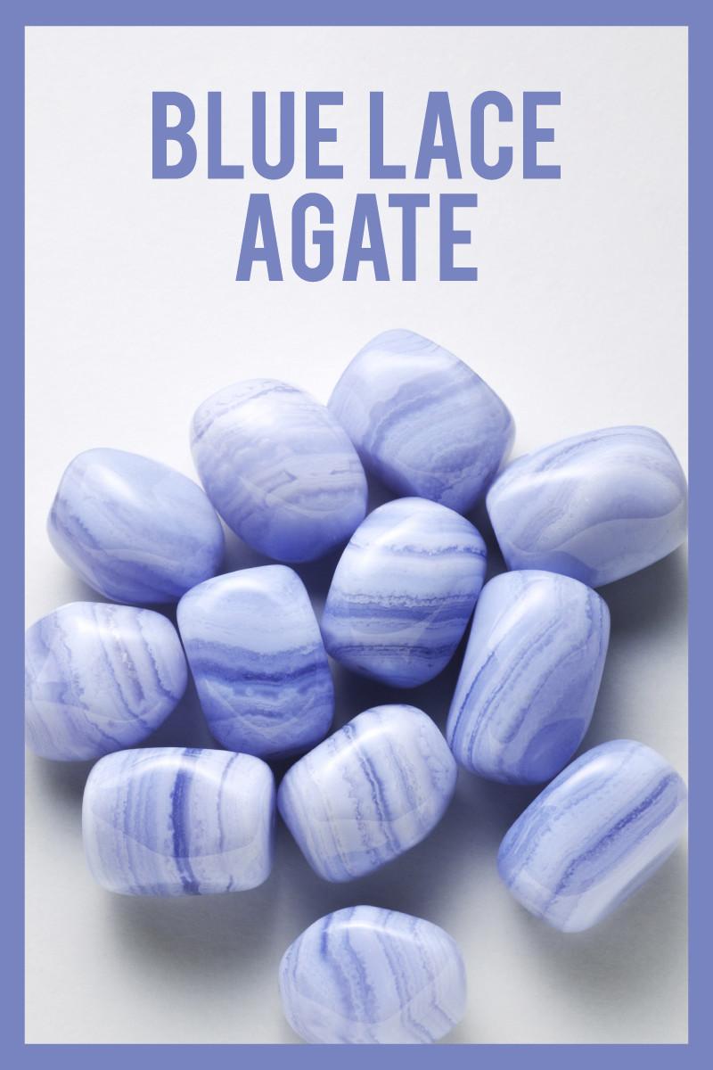 blue lace agate gemstone