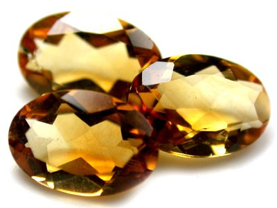 NATURAL CITRINE OVAL SHAPE 3pcs 1.20 CARATS RL54