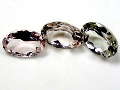-6x4 mm CLEAR TOURMALINE OVAL CUT pcs .1.35 CARATS RO 1569