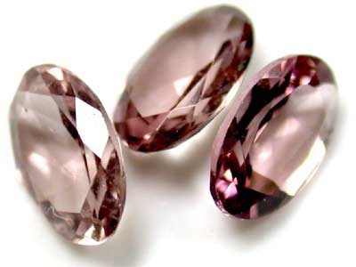 6x4 mm  CLEAR TOURMALINE OVAL CUT pcs .1.10 CARATS RO 1570
