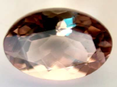 NATURAL CLEAR TOURMALINE OVAL CUT  0.75 CARATS RO 1641