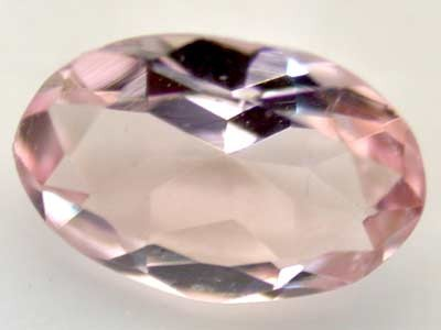 NATURAL CLEAR TOURMALINE OVAL CUT  0.35 CARATS RO 1642