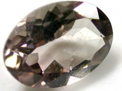 NATURAL CLEAR TOURMALINE OVAL CUT  0.75 CARATS RO 1684