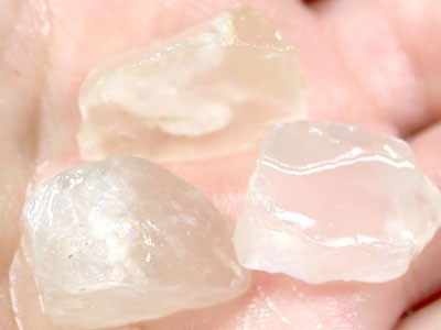Parcel Selenite  3 pieces RO38