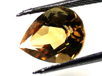 NATURAL CITRINE STONE  DROP SHAPE  2.4CARATS  RA174