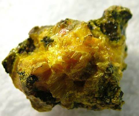 (MGW) ORPIMENT SPECIMEN GOLD BAR MINE USA 80 CTS FP 897
