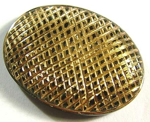 38 CTS BLACK ONYX 24K GOLD ENGRAVED  LG-942
