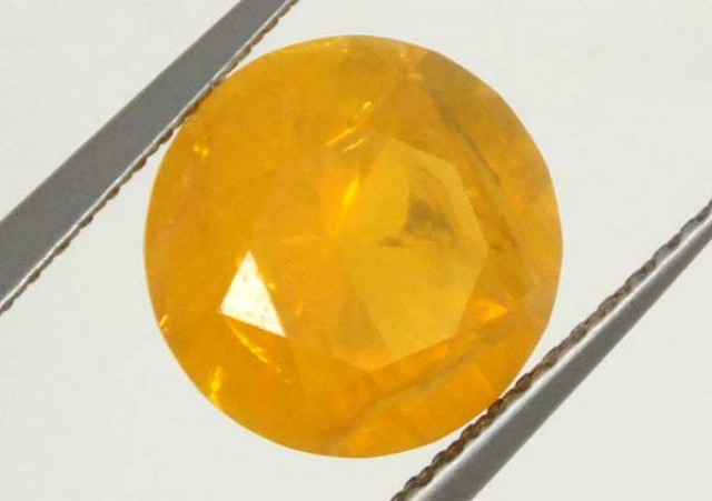 CITRINE FACETED STONE 3 CTS  TBG-1674