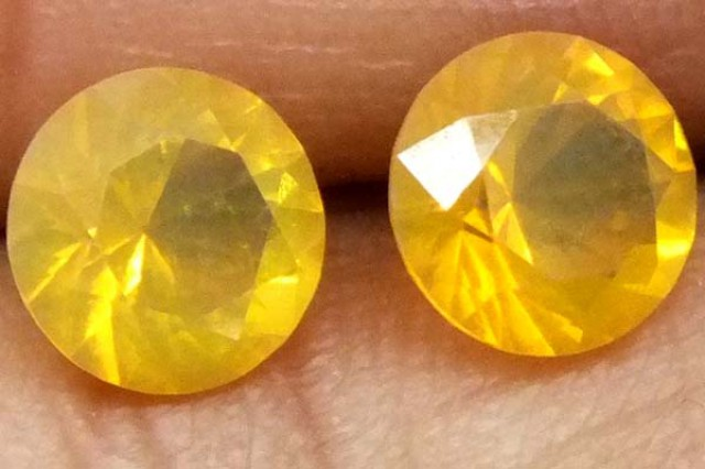 CITRINE FACETED STONE 1.20 CTS  TBG-1679