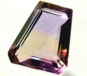 NATURAL AMETERINE FACETED STONE 2.50 CTS TBG-1958