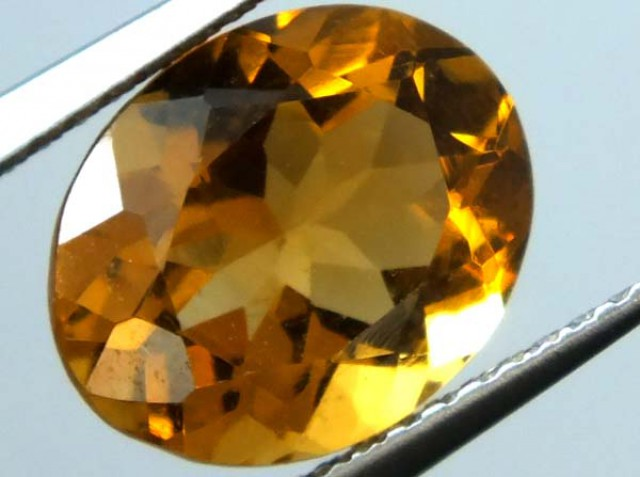 CITRINE FACETED STONE 3 CTS  TBG-1573