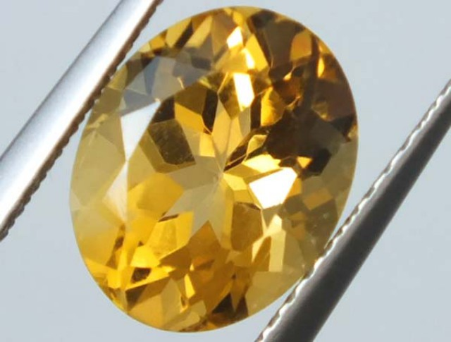 CITRINE FACETED STONE 2 CTS  TBG-1574