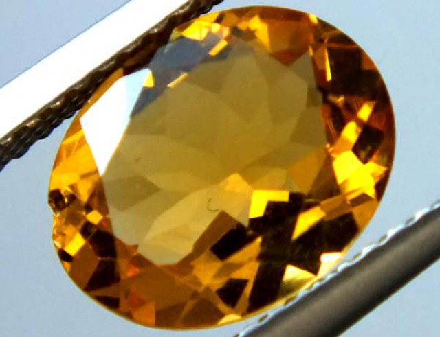 VVS CITRINE FACETED STONE 2 CTS  TBG-1577